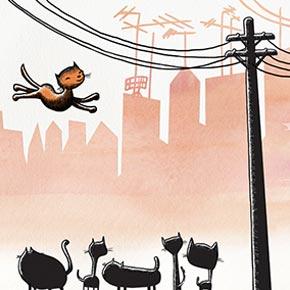 Cats pole